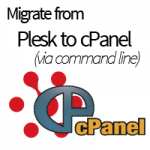Migrating from Plesk to cPanel via commandline