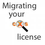 Migrate CXS license from one server to another
